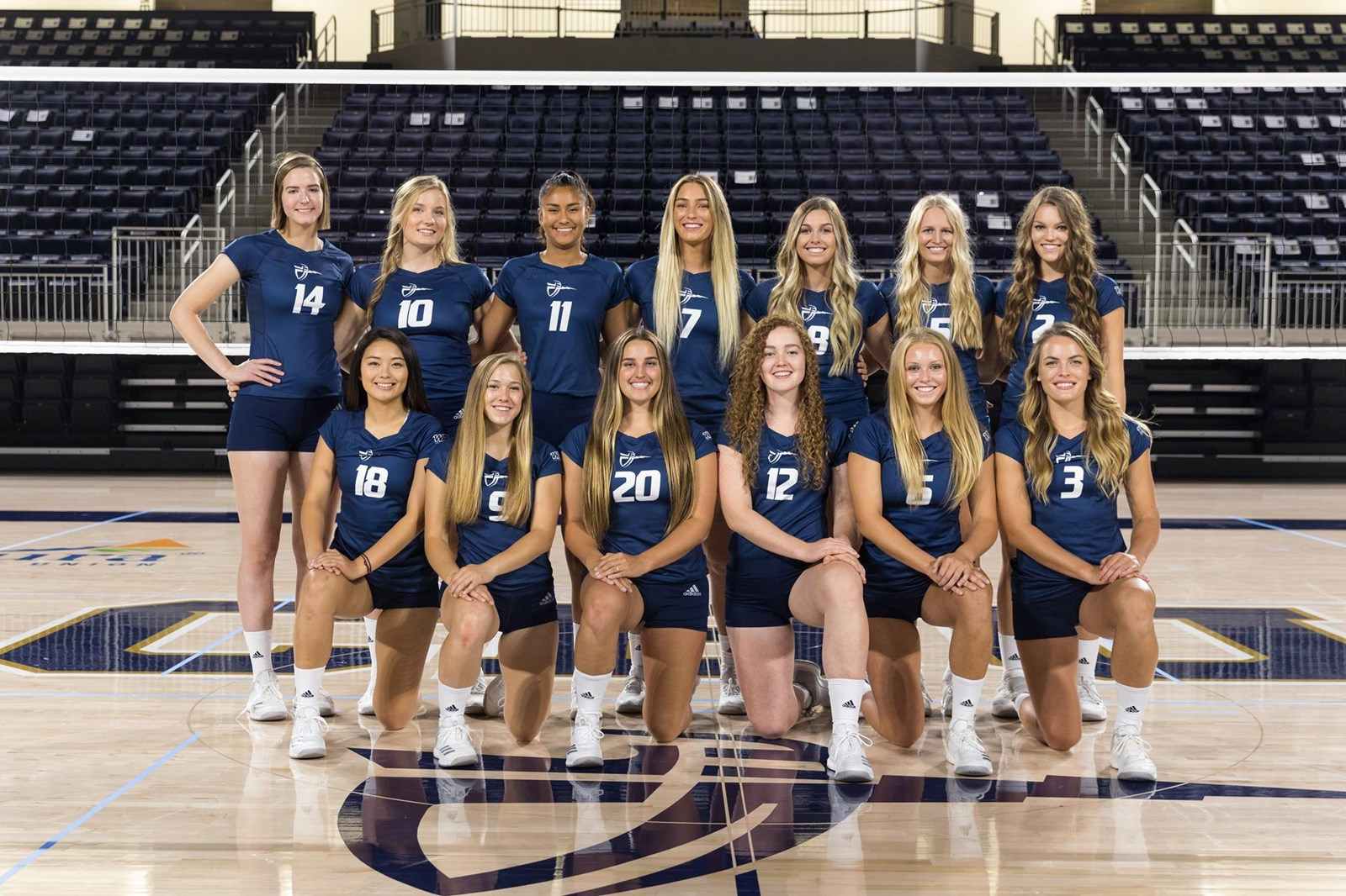 2018 Women S Volleyball Roster Cbu Athletics